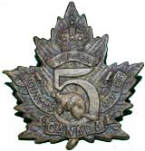 5th Canadian Rifles